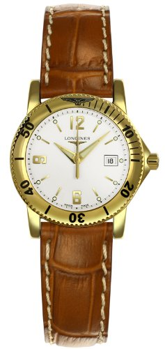 Longines Admiral 18kt Gold Womens Watch L3.119.6.16.9