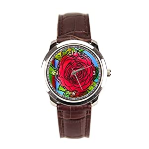 sanYout Wrist Watches Cartoon Leather Watches Red Men Wrist Watches Jamfoto