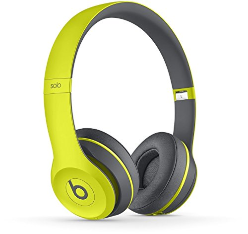 Beats by Dr. Dre Solo2 Cuffie Wireless On-Ear, Giallo active