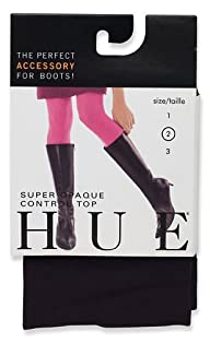 HUE Women's Super Opaque Control-Top Tight