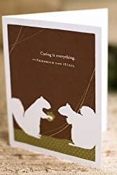 "Appreciation Card - ""Caring Is Everything."" (Set of 6)"