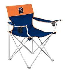 MLB Detroit Tigers Big Boy Folding Chair by Logo Chair Inc.