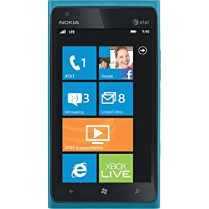 Nokia Lumia 900 16GB Unlocked GSM 4G LTE Windows 7.5 Smartphone w/ 8MP