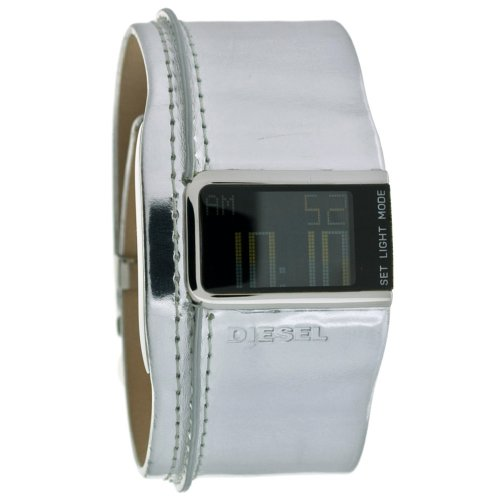 DIESEL Wrist Watches:Diesel Unisex DZ7090 Digital Quartz Leather Cuff Watch Images