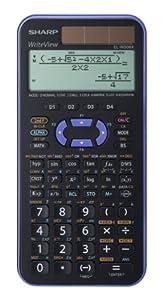 Sharp EL-W506 X-VL - Calculadora científica (4 botones programables, 80 x 168 x 14 mm, solar y a pilas) por SHARP