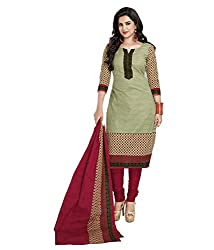 Foram Fashion Women's Cotton Unstitched Dress Material (FF01_Multi-Coloured_Freesize)