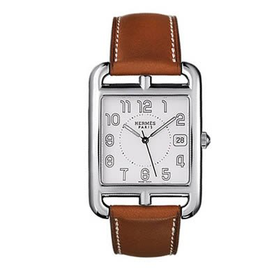 Hermes Cape Cod TGM Ladies Quartz Watch - 026086WW00
