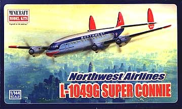 Buy Lockheed L1049G Northwest 1-144 by Minicraft