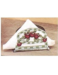 Old Dutch Hand Painted Apple Napkin Holder by Old Dutch