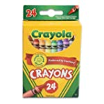 Crayola Crayons 24 Count - 2 Packs 52...