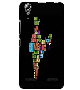 LENOVO A6000 PLUS MAP Back Cover by PRINTSWAG