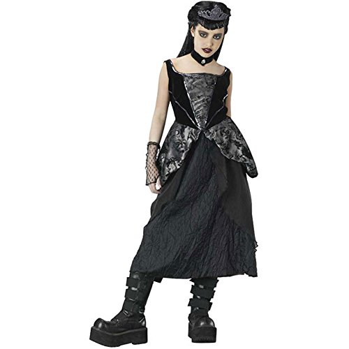 Girl's Teen Gothic Princess Halloween Costume (Size: Teen 6-8)