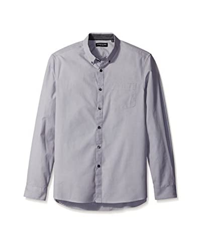 Kenneth Cole New York Men's Long Sleeve End On End Shirt