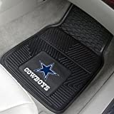 Dallas Cowboys Heavy Duty 2-Piece Vinyl Car Mats
