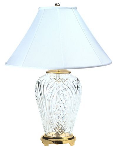 crystal 29 inch kilkenny lamp cyber monday thanksgiving cyber monday. Black Bedroom Furniture Sets. Home Design Ideas
