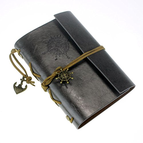 leegoal-vintage-retro-leather-cover-journal-jotter-diary-notebook-black