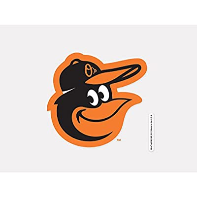 "MLB Baltimore Orioles 93907012 Perfect Cut Color Decal, 4"" x 4"", Black"