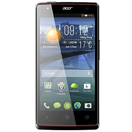 Acer Liquid E3 Duo Smartphone débloqué (4.7 pouces - 4 Go) Noir (import Espagne)