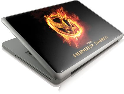 Skinit The Hunger Games Logo Vinyl Laptop Skin for Apple MacBook Pro 13