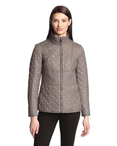 Betsey Johnson Women's Short Quilted Jacket