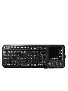 AIRIS Mini Teclado Inalámbrico Con Touch Pad