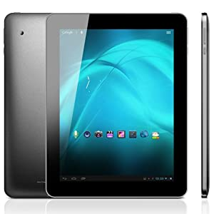 Ainol Novo9 Spark - Retina de 9,7 pouces (2048 x 1536 pixels) Écran IPS Allwinner A31 1.5GHz Quad Core Android 4.1 Tablet PC 2G RAM Jelly Bean 5MP double HDMI (Noir, Blanc)