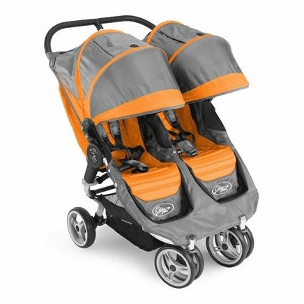Baby Jogger 2011 City Mini Double Stroller, Orange/Gray