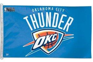 NBA Oklahoma City Thunder WCR42306010 Team Flag, 3' x 5'
