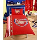 Arsenal FC Single Duvet Cover & Pillowcase Set