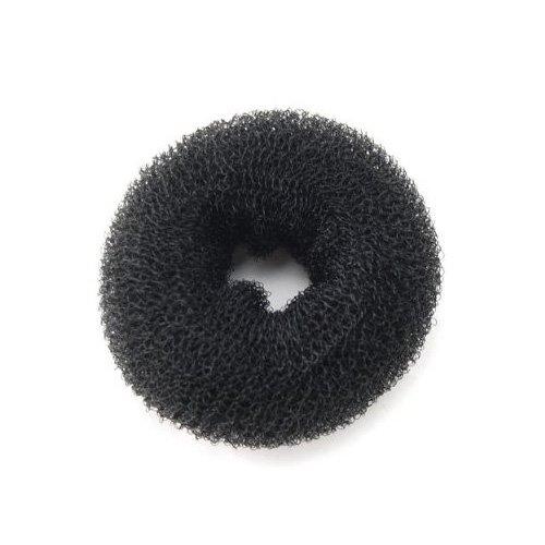 Black Hair Buns