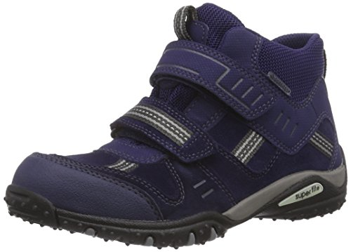 Superfit SPORT4, Sneaker alta Ragazzo, Blu (Blau (COSMOS 90)), 27