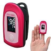 パルスオキシメーター オキシガール(リニューアル後継品) S-112 ピンク 血中酸素濃度計
