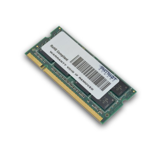 Patriot PSD22G8002S Signature DDR2 2GB (CL6 PC2-6400, 800MHz SODIMM Laptop Memory)