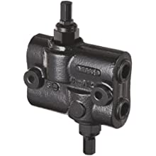 "Prince DRV-2HH Double Relief Valve, Differential Poppet, Cast Iron, 3000 psi, 30 gpm, 3/4"" NPTF"