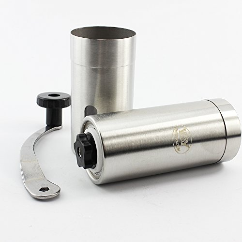WY Inspiration Professional Stainless Steel Manual Coffee Grinder, Best Coffee Bean Grinder