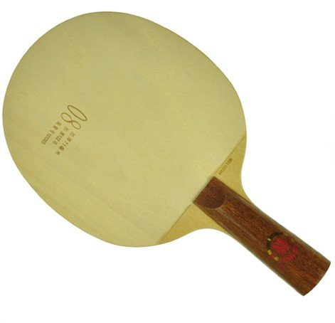DHS Wood Table Tennis Blade - Chinese Penhold Handle, Ping Pong Blade, Legend 08