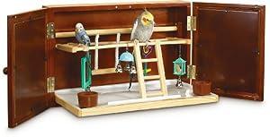 Super Pet Feathered Fun Wall Mount Activity Center, Pet Bird, Keet/Tiel