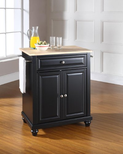 Recommended Crosley Furniture Kf30021dbk Cambridge Portable Kitchen Island Cheap Today