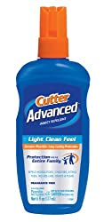 Cutter 53663 Advanced 6-Ounce 7% Picaridin Insect Repellent Pump Spray
