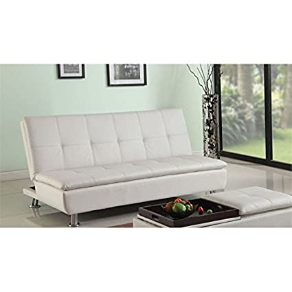 ACME Derrick Adjustable Sofa, White