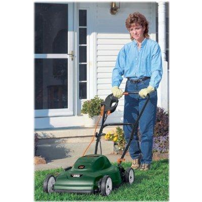 "Black & Decker Lm175 Electric Lawn Mower, 6.5 Amp, 18"""