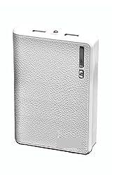 Lappymaster LMPB89 Wallet Design 8000mAh Power Bank (White)