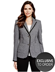 Per Una Wool Blend Double Faced Blazer