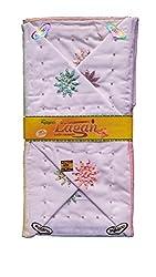 Milano White Cotton handkerchiefs for women - Pack of 12 pcs