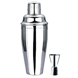 #1 Premium Cocktail Shaker Set From Barware Styles.  Our Classic & Elegant... by Barware Styles