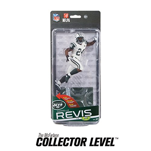 McFarlane Toys NFL New York Jets Sports Picks Series 37 Darrelle Revis Action Figure [White Jersey]