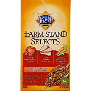 Nature's Recipe Farm Stand Selects with Turkey, Fruits