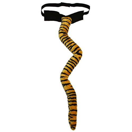 SeasonsTrading Long Plush Tiger Tail Costume Accessory ~ Halloween Party