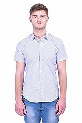 Trendster Multi Stripes Half Sleeve Casual Men's Shirt