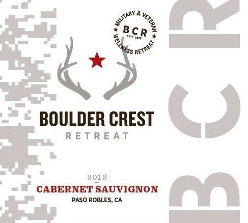 2012 Boulder Crest Retreat Paso Robles Cabernet Sauvignon 750 Ml